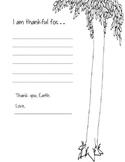The Giving Tree (Shel Silverstein): Thankful Worksheet