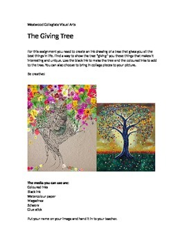 The Giving Tree- Special Needs