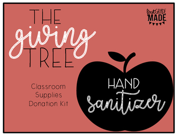 The Giving Tree Supply Tags