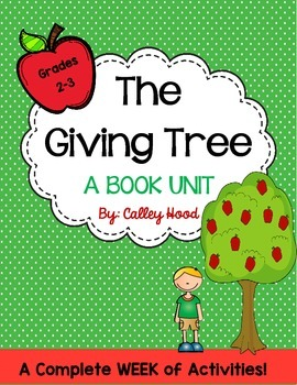 The Giving Tree Unit - Shel Silverstein