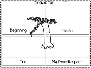 The Giving Tree Unit
