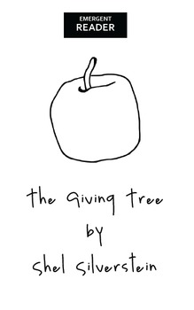 The Giving Tree Booklet - Emergent Reader
