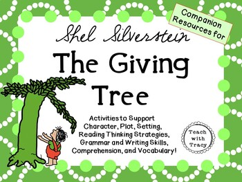 literary analysis the giving tree Fifty years (i repeat: a half century) ago, the world was bestowed with shel  silverstein's literary wonder the giving tree this slight, leaf-green.