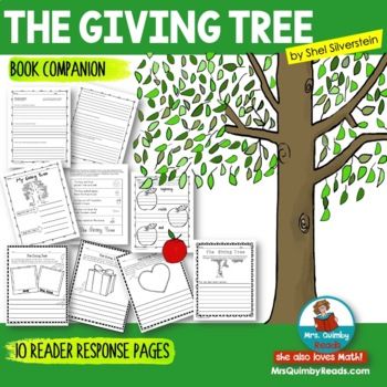 The Giving Tree by Shel Silverstein | [Writing Prompts] | Reader Response Pages
