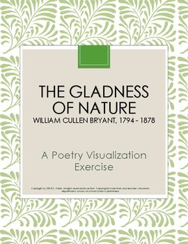 The Gladness of Nature PoetryVisualization Exercise