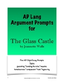 The Glass Castle Argument Prompts - AP Lang