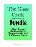 The Glass Castle BUNDLE: Quote Response, Argument Prompts, Syntactical Imitation