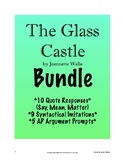 The Glass Castle BUNDLE: Quote Response, Argument Prompts, Syntactical Imitation