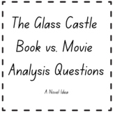 The Glass Castle Book vs. Movie Analysis Questions
