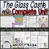 The Glass Castle Complete Unit Bundle - Activities, Quizzes, Test, Lesson Plans