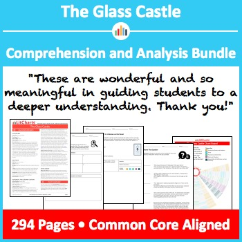 The Glass Castle – Comprehension and Analysis Bundle