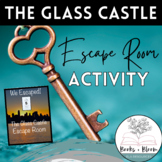 """The Glass Castle:"" Engaging Post-Reading Whole Novel Escape Room Activity"