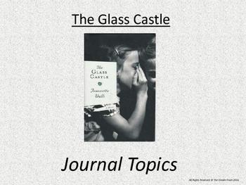 The Glass Castle Lesson - Journal Topics