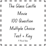 The Glass Castle Movie 100 Question Multiple Choice Test + Key