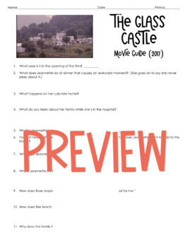 The Glass Castle Movie Questions