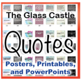 The Glass Castle Novel Quotes Posters and Powerpoints