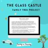 The Glass Castle Novel Study - Character Traits Chart and Family Tree Project