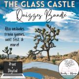 The Glass Castle Unit Quizzes + Assessments Bundle - Distance Learning Ready!