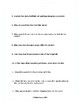The Glass Castle Study Guide W/ Answer Key