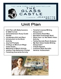 The Glass Castle Lesson Plans UBD Unit and Activites - Teacher's Bundle