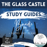 The Glass Castle Study Guide Bundle: Questions and Answers + Distance Learning