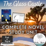 """The Glass Castle"" Lesson Plans and Resources: Complete Novel Study Unit Bundle"