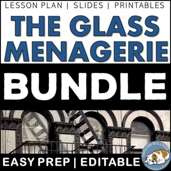 The Glass Menagerie  Activity Mini Bundle