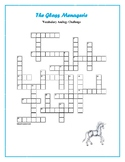 The Glass Menagerie: Analogy Vocabulary Crossword—Challenging!
