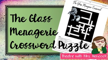 The Glass Menagerie Crossword Puzzle