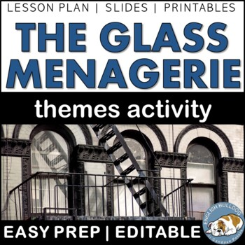 The Glass Menagerie Themes Textual Analysis Activity