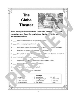 The Globe Theater - An Introduction for Kids