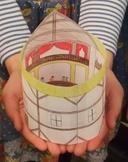 Shakespeare's Globe Theater Model