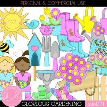 The Glorious Gardening Clip Art Collection