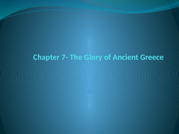 The Glory of Ancient Greece PowerPoint