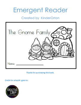 The Gnome Family - Emergent Reader
