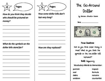 The Go-Around Dollar Trifold - Imagine It 3rd Grade Unit 3 Week 2