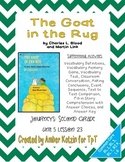 The Goat in the Rug Activities 2nd Grade Journeys Unit 5, Lesson 23