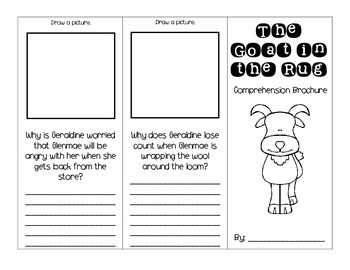 The Goat in the Rug Journey's Activities - Second Grade Lesson 23