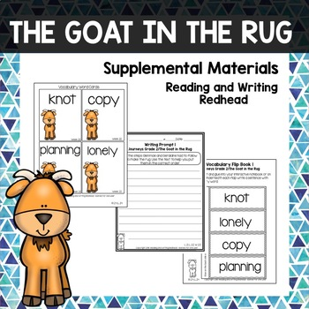 The Goat in the Rug -  Journeys Second Grade Week 23