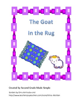 The Goat in the Rug  Literacy centers