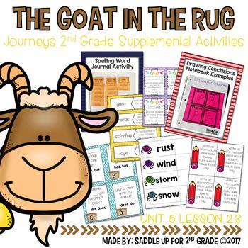 The Goat in the Rug Supplemental Activities