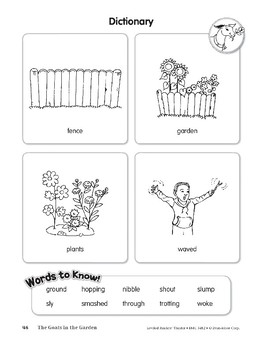 The Goats in the Garden (Leveled Readers' Theater, Grade 2)