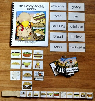 "Turkey Adapted Books Unit--""The ""Gobbly-Gobbly"""