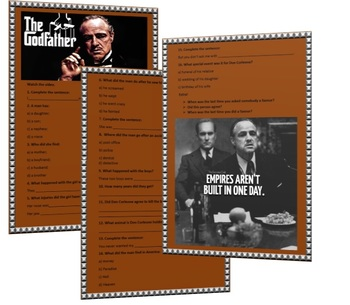 The Godfather scene worksheet