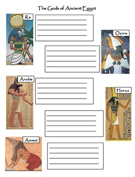 The Gods and Goddesses of Ancient Egypt - Religion