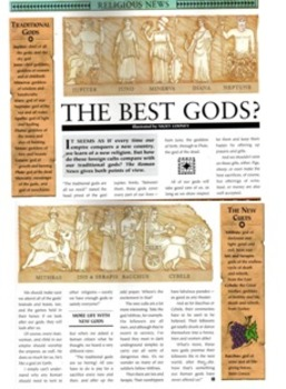 The Gods and Goddesses of Ancient Rome