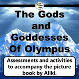 The Gods and Goddesses of Olympus picture book resources