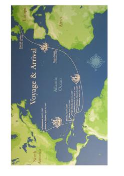 The Godspeed (Jamestown Settlement) Word Search