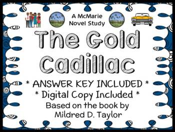 The Gold Cadillac (Mildred D. Taylor) Novel Study / Reading Comprehension