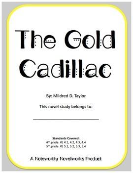 The Gold Cadillac Novel Study / Answer Key